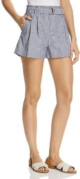 AQUA Paper Bag Striped Shorts - 100% Exclusive