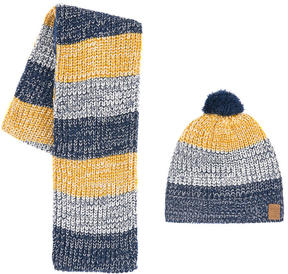 3 Pommes Hat and neck warmer