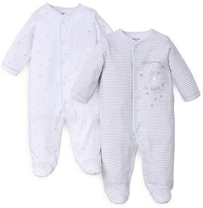 Little Me Unisex Welcome Footie, 2 Pack - Baby