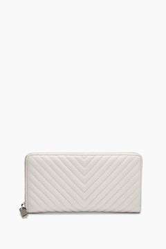 Rebecca Minkoff Continental Love Wallet - NATURAL - STYLE