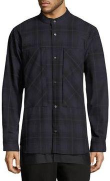 Public School Cotton Casual Button-Down Shirt