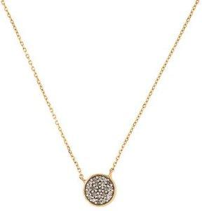 Adina 14K Diamond Disc Pendant Necklace
