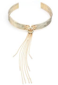 Eddie Borgo Neo Tassel Collar in Gold