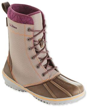 L.L. Bean L.L.Bean Women's Bar Harbor Boots, Nylon Mid