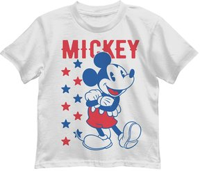 Disney Disney's Mickey Mouse Boys 4-7 Patriotic Graphic Tee