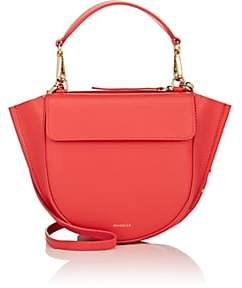 Hortensia Wandler Women's Mini Leather Shoulder Bag-Red