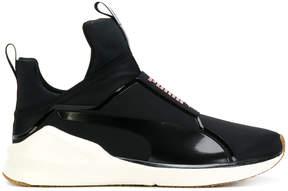 Puma logo slip-on sneakers