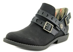 Blowfish Anotole Women Round Toe Synthetic Black Ankle Boot.