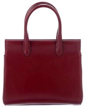 Alaia Aza Leather Satchel