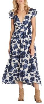 Billabong Women's Don'T Mess Floral Print Dress
