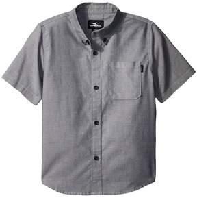 O'Neill Kids Banks Short Sleeve Woven Top Boy's Clothing
