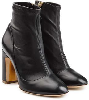 Rupert Sanderson Stretch Leather Metta Booties