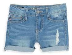 Vigoss Little Girl's Butterfly Denim Shorts