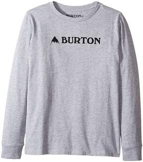 Burton Mountain Horizontal Long Sleeve T-Shirt Boy's T Shirt