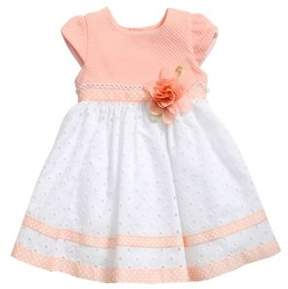 Sweet Heart Rose Sweetheart Rose Baby Girl's Embroidered Eyelet Dress