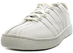K-Swiss Classic 66 Men Round Toe Leather Tennis Shoe.