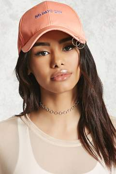 Forever 21 No Days Off O-Ring Cap