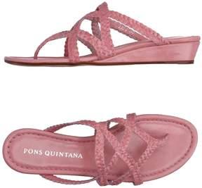 Pons Quintana Toe strap sandals