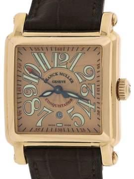 Franck Muller Cortez Conquistador 10000 L 18K Rose Gold Automatic 31mm Womens Watch