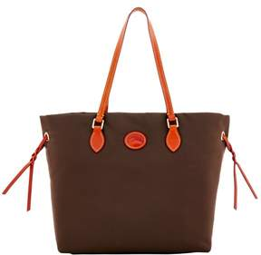 Dooney & Bourke Nylon Shopper Tote - BROWN TMORO - STYLE