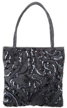 Etro Sequined Handle Bag