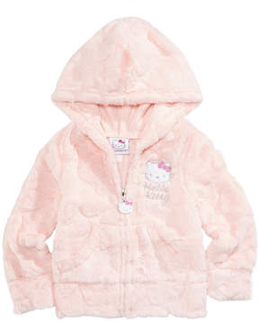 Hello Kitty Faux-Fur Zip-Up Hoodie, Baby Girls (0-24 months)