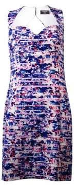 GUESS Women's Scuba Printed Sheath Dress (14, Multi)