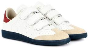 Isabel Marant Beth leather sneakers