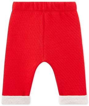 Petit Bateau BABY UNISEX PANTS IN QUILTED TUBE KNIT