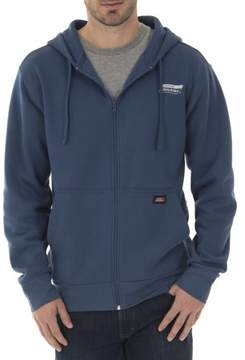 Dickies Genuine Big Men's Fleece Zip Hoodie with Waffle Hood