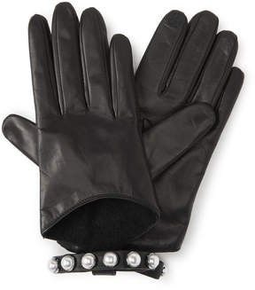 Henri Bendel No.7 Pearl Leather Gloves