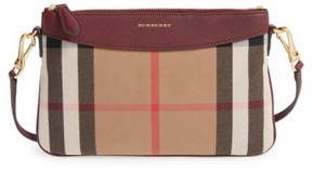 Burberry 'Peyton - House Check' Crossbody Bag - Red - RED - STYLE