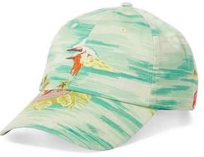 Polo Ralph Lauren Hawaiian Print Stretch Chino Baseball Cap