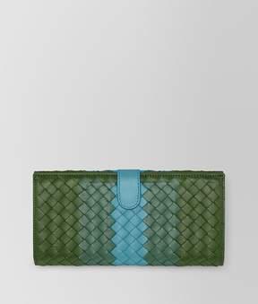 Bottega Veneta Ivy Intrecciato Nappa Club Continental Wallet