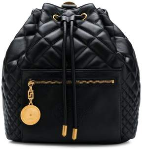 Versace quilted backpack