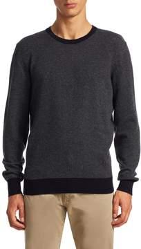 Luciano Barbera Men's Cashmere Crewneck Sweater