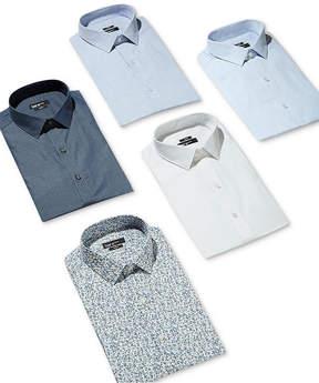 Bar III Men's Slim-Fit Stretch Light Blue Dress Shirt, Created for Macy's