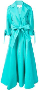 Christian Siriano long blazer gown