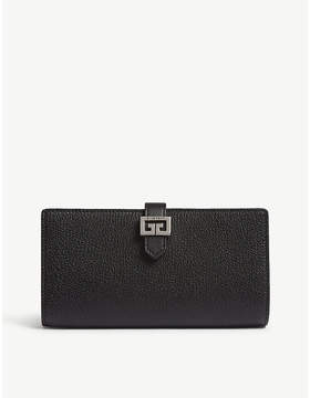 Givenchy GV3 long leather wallet