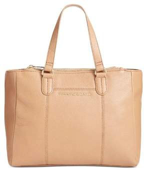 Tommy Hilfiger Womens Pauletta Medium Shopper Camel Leather