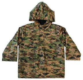 Western Chief Toddler Boy Camo Rain Coat Green
