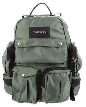 DSQUARED2 Nylon Utilitary Backpack