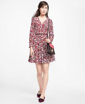 Brooks Brothers Floral Silk Dress