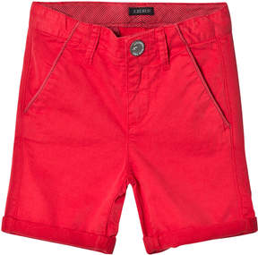 Ikks Red Chino Shorts
