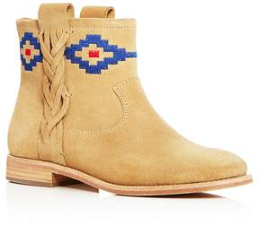 Soludos Embroidered Booties