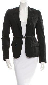 Jean Paul Gaultier Belted Wool Blazer