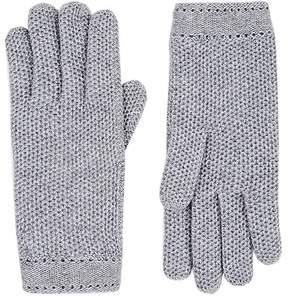 Barneys New York Women's Woven Cashmere Gloves