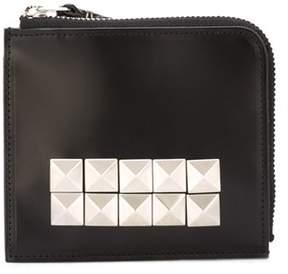 Comme des Garcons Women's Black Leather Wallet.