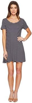 Culture Phit Lea Short Sleeve Striped Dress Women's Dress