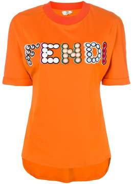 Fendi embellished T-shirt
